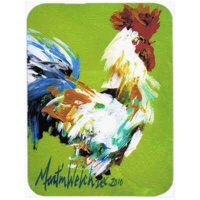 Jaiden Boss Rooster Glass Cutting Board