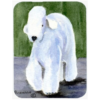 Bedlington Terrier Rectangle Tempered Glass Cutting Board