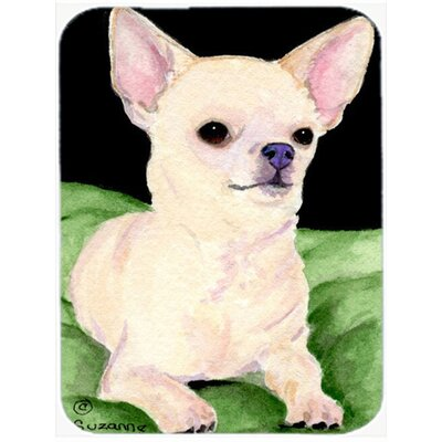 Chihuahua Rectangle Tempered Glass Cutting Board