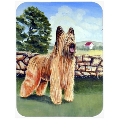 Briard by The Stone Fence Glass Cutting Board