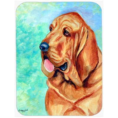 Bloodhound Glass Cutting Board