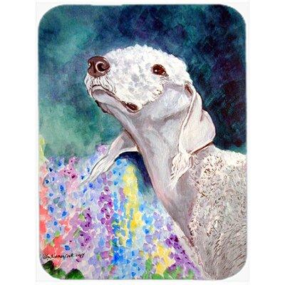 Bedlington Terrier Rectangle Glass Cutting Board
