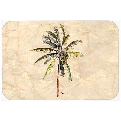 Palm Tree Glass Cutting Board