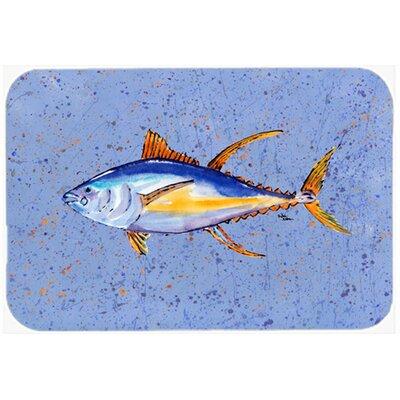 Tuna Fish Glass Cutting Board