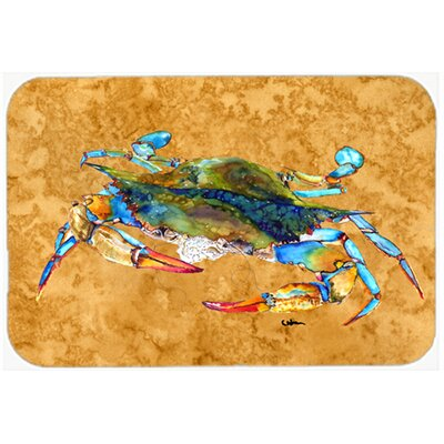Crab Heat Resistant Tempered Glass Cutting Board