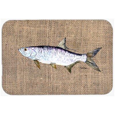 Tarpon Fish Glass Cutting Board
