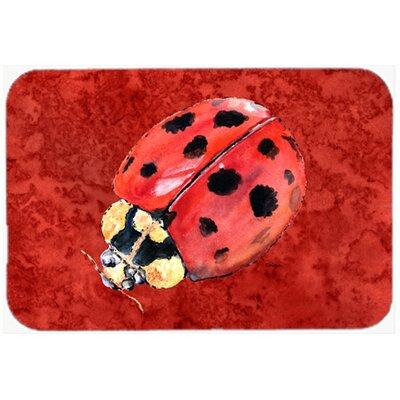 Lady Bug Glass Cutting Board