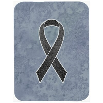 Ribbon for Awareness Glass Cutting Board Color: Black