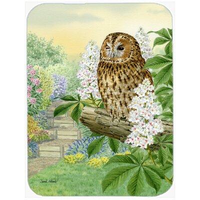 Tawny Owl Glass Cutting Board
