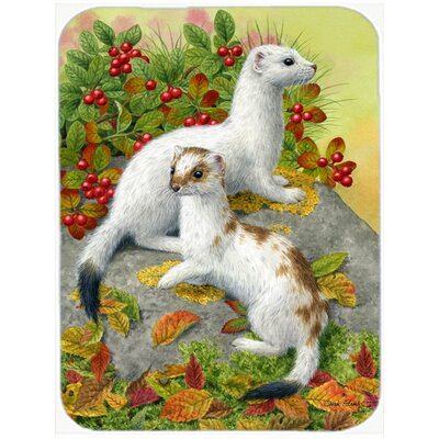 Ermine Stoat Short-tailed Weasel Glass Cutting Board