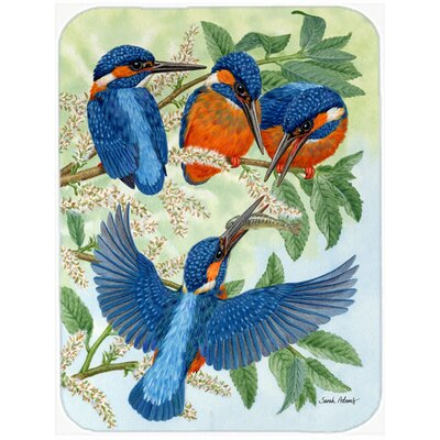 Kingfisher Family Glass Cutting Board
