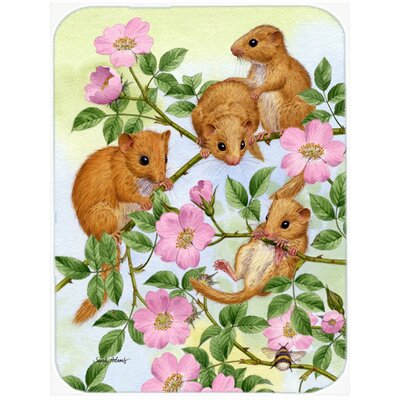 Dormouse Dormice Glass Cutting Board