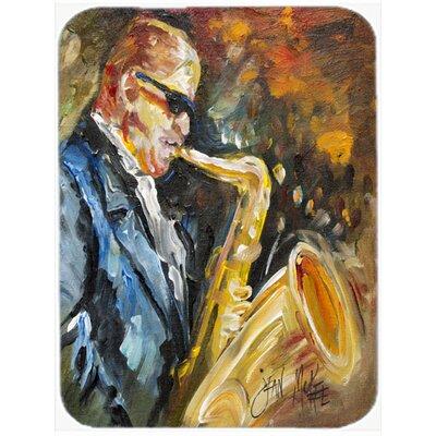 Jazz Saxophone Glass Cutting Board