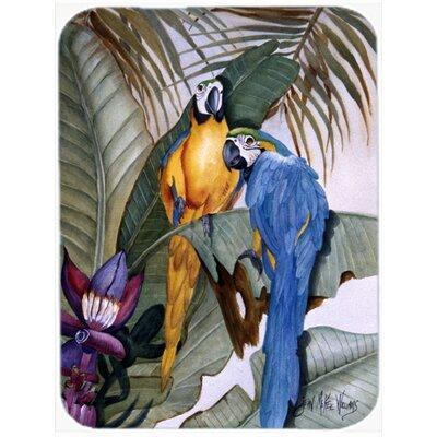 Parrots Glass Cutting Board