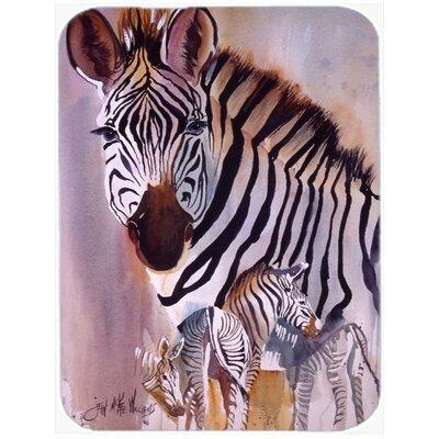 Zebras Glass Cutting Board