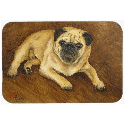 Pug Roscoe Glass Cutting Board