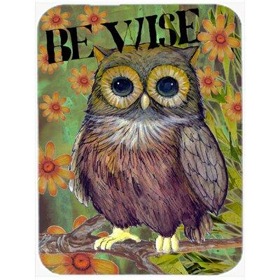 Be Wise Owl Glass Cutting Board