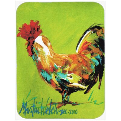 Jaiden Cockadoo Rooster Glass Cutting Board
