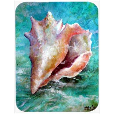 The Jewel of the Sea Shell Glass Cutting Board