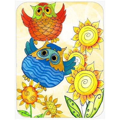 Celebrate Owl Glass Cutting Board