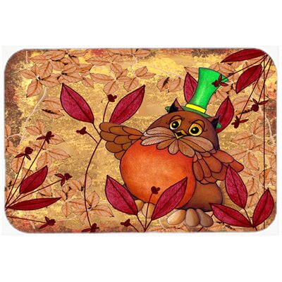 Hootie Fall Owl Glass Cutting Board