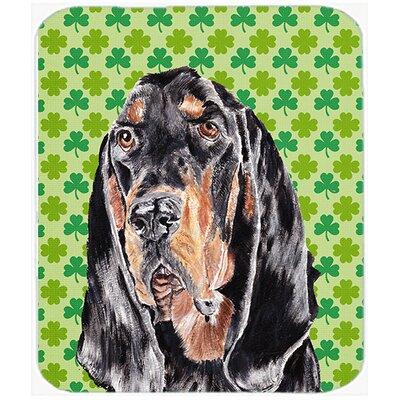 Coonhound St Patrick's Irish Glass Cutting Board