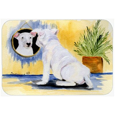 Bull Terrier and Mirror Glass Cutting Board