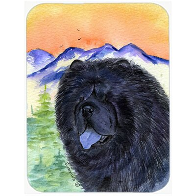 Chow Chow Rectangle Glass Cutting Board