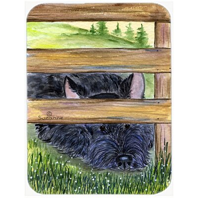 Scottish Terrier Rectangle Glass Cutting Board