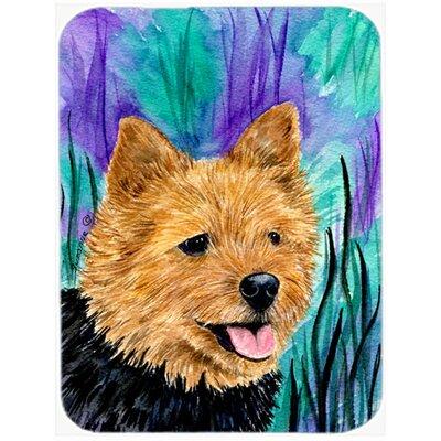 Norwich Terrier Glass Cutting Board