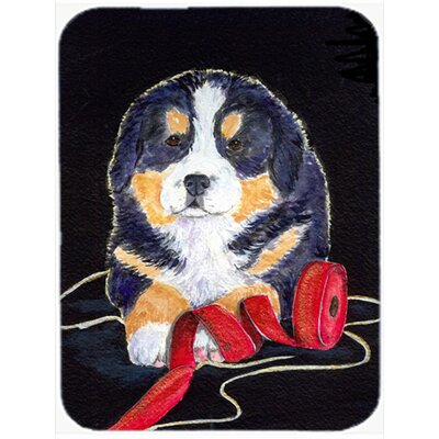 Dog Black Glass Cutting Board