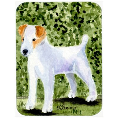 Jack Russell Terrier Glass Cutting Board