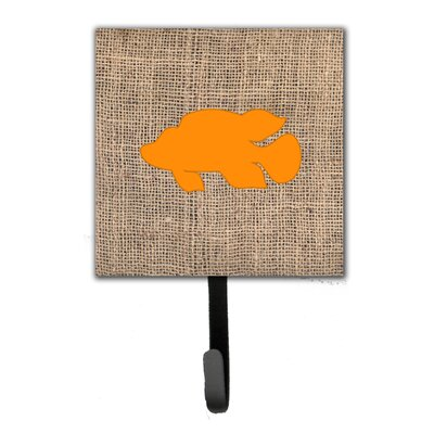 Tropical Fish Leash Holder and Wall Hook