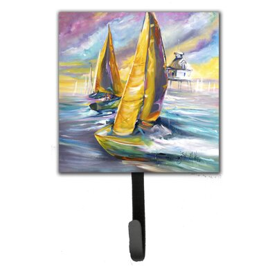 Middle Bay Lighthouse Sailboats Leash Holder and Wall Hook