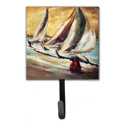 Boat Race Sailboats Leash Holder and Wall Hook