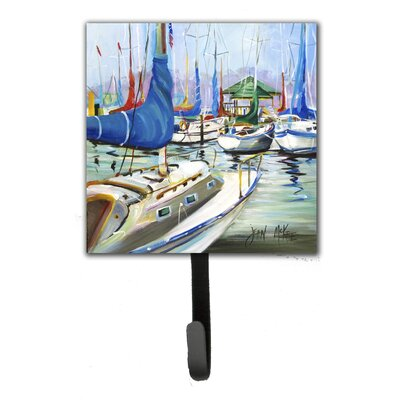Day Break Sailboats Leash Holder and Wall Hook