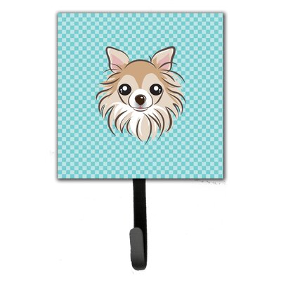 Checkerboard Chihuahua Wall Hook