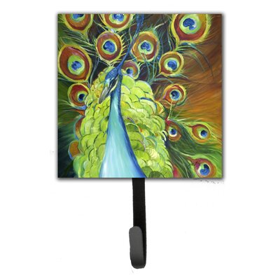 Peacock Leash Holder and Wall Hook
