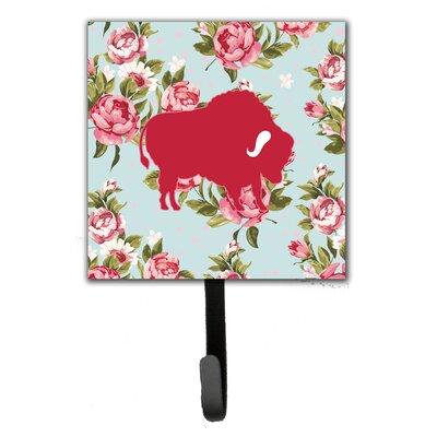 Buffalo Shabby Elegance Roses Leash Holder and Wall Hook