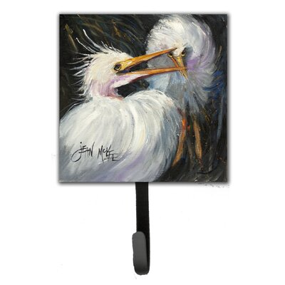 Egret Leash Holder and Wall Hook