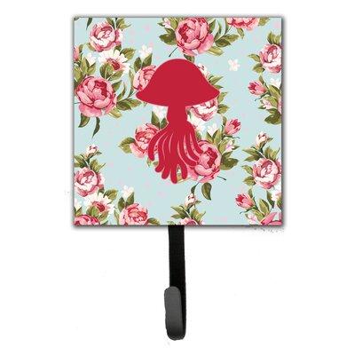 Jellyfish Shabby Elegance Roses Leash Holder and Wall Hook