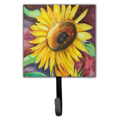 Sunflowers Leash Holder and Wall Hook