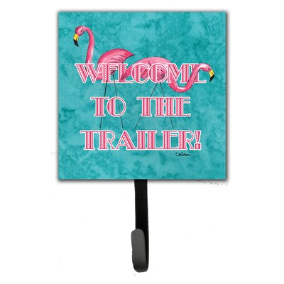 Welcome To The Trailer Leash Holder and Wall Hook