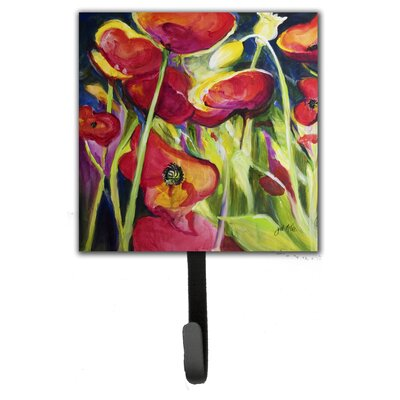 Poppies Leash Holder and Wall Hook