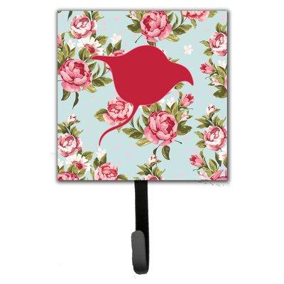Stingray Shabby Elegance Roses Leash Holder and Wall Hook