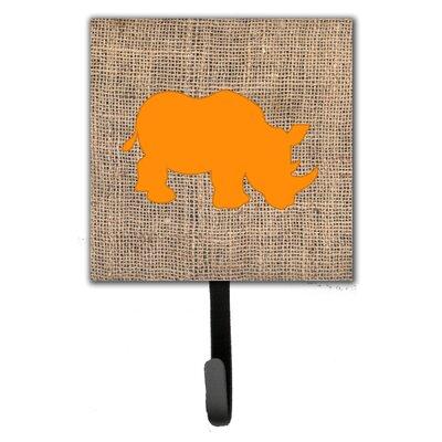 Rhinoceros Leash Holder and Wall Hook