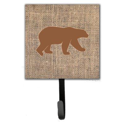 Bear Leash Holder and Wall Hook