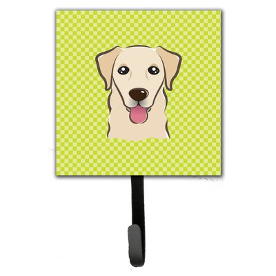 Checkerboard Retriever Leash Holder and Wall Hook