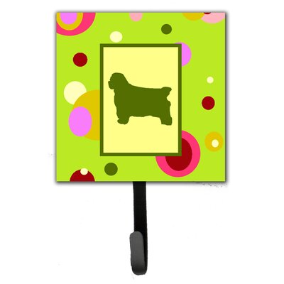 Clumber Spaniel Leash Holder and Wall Hook