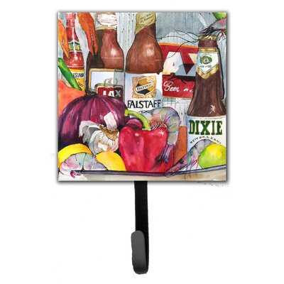 New Orleans Beers and Spices Leash Holder and Wall Hook
